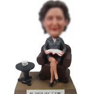 Custom female Boss bobbleheads