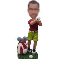 Custom golf bobbleheads
