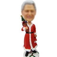 Custom Christmas bobbleheads