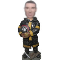 Firefighters bobbleheads