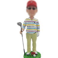 Golf bobble head doll