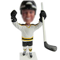 Hockey bobbleheads