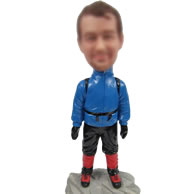 Mountaineering bobbleheads