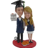 Personalized Custom bobbleheads of cake toppers
