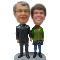 Personalized Custom bobbleheads of Loves