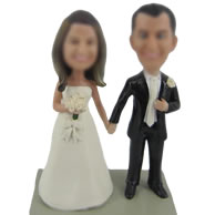 Personalized Custom Wedding bobble headdoll