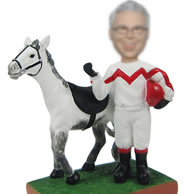 Personalized Horse bobbleheads