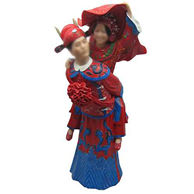Chinese-Style Wedding Bobbleheads 12 Inch