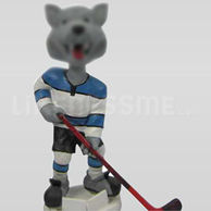 Custom Hockey players bobble head doll
