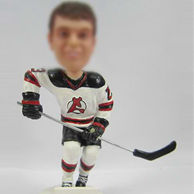 Custom Hockey players bobble dolls