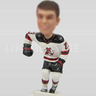 Custom Hockey players bobble heads