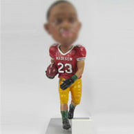 Custom rugby players bobble