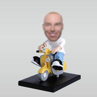 Customized bobblehead of obility Scooters
