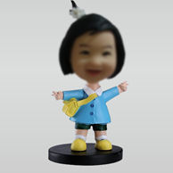 Customized Cute Girl bobblehead