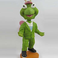 Green pants bobble head doll
