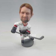 Hockey players bobble head doll