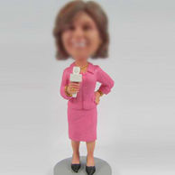 Moderator bobble head doll