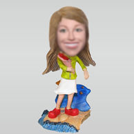 Personalized custom Beach tourism bobbleheads