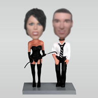 Personalized custom couple bobblehead dolls