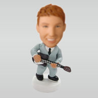 Personalized custom Guitar / Bass bobble heads