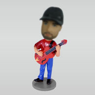 Personalized custom Guitar / Bass bobbleheads