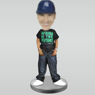 Personalized custom Hip-hop bobblehead