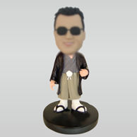 Personalized custom Japanese dress bobbleheads