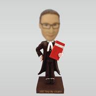 Personalized custom Judge bobbleheads