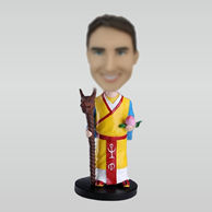 Personalized custom Mage bobbleheads