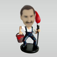 Personalized custom Painter bobbleheads