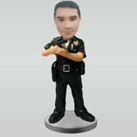Personalized custom police bobbleheads