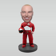 Personalized custom Racing driver bobbleheads