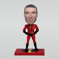 Personalized custom superman bobbleheads