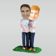 Personalized custom sweet lover bobblehead