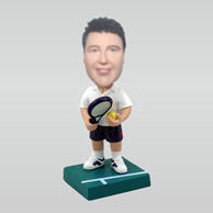 Personalized custom Tennis bobble heads