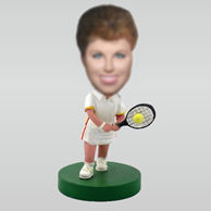 Personalized custom Tennis bobblehead
