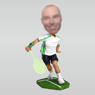 Personalized custom Tennis players bobbleheads