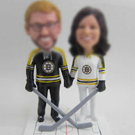 Players bobble heads doll
