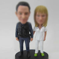 Police and doctor bobble