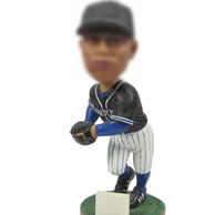 Personalized Baseball Athlete bobbleheads