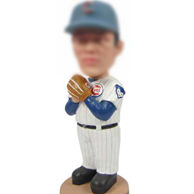 Personalized Baseball sportsman bobble head doll