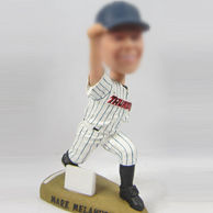 Personalized Baseball sportsman bobble heads