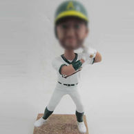 Personalized Baseball sportsman bobblehead doll