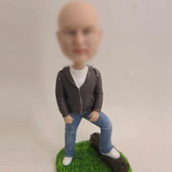 Personalized comfortable Male bobblehead dolls