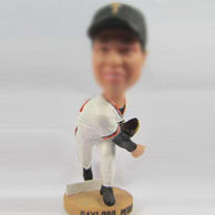 Personalized custom Baseball bobbleheads