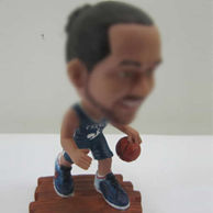Personalized custom Basketball player bobble head doll