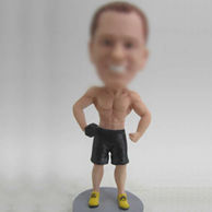 Personalized custom Boxer bobble