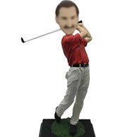 Personalized Custom Golf Bobble Heads 12 Inch