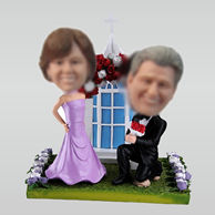 Personalized Customized wedding bobble heads