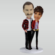 Personalized Personalizedd custom sweet lover bobbleheads